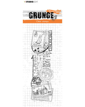 *Pre Order* SL-GR-STAMP36 – SL Clear Stamp Love mail Grunge Collection nr.36
