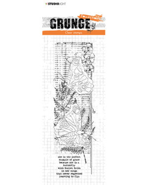 *Pre Order* SL-GR-STAMP40 – SL Clear Stamp Butterflies Grunge Collection nr.40