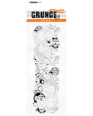 *Pre Order* SL-GR-STAMP41 – SL Clear Stamp Fish Grunge Collection nr.41