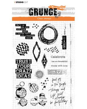 *Pre Order* SL-GR-STAMP43 – SL Clear Stamp Elements Grunge Collection nr.43