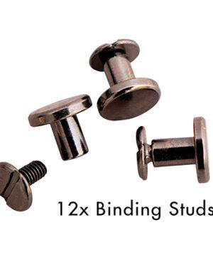 *Pre Order* SL-PES-STUD01 – SL Binding studs Black Planner Essentials nr.01