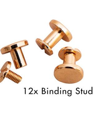 *Pre Order* SL-PES-STUD04 – SL Binding studs Rose Planner Essentials nr.04