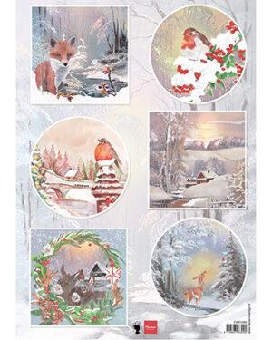 Marianne D Decoupage Winter wishes – Vos EWK1286