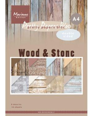 PK9170 – Papier blok Wood & Stone