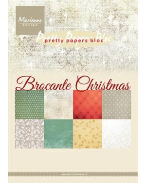 PK9171 – Papier blok Brocante Christmas
