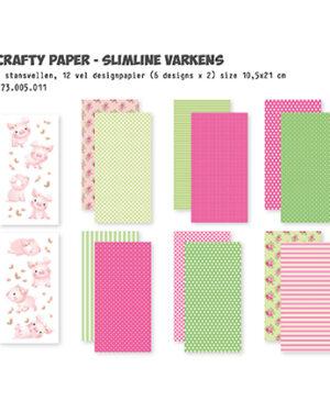 473.005.011 – Crafty Kit Slimline Pigs
