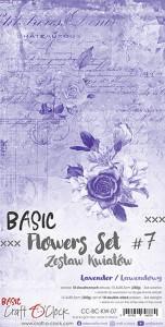 Craft O' Clock – Flowers – SET 07