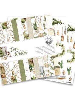 Piatek13 – Paper pad Cosy Winter, 12×12'' P13-COS-08