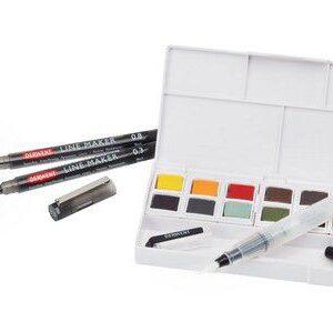 Derwent line and wash paint set DIB2305866