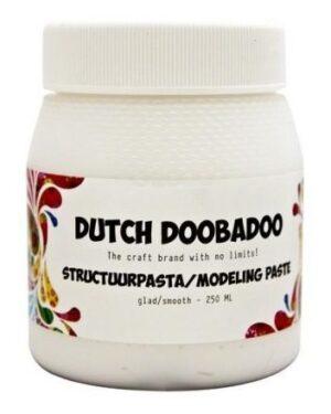 Dutch Doobadoo Dutch Structure Paste Smooth Wit 250ml 870.000.000