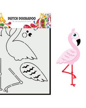470.713.880 – Card Art Built up flamingo