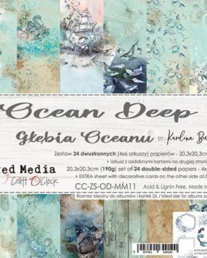 Craft O' Clock – Ocean Deep – Paperpad 20.3 x 20.3 cm