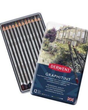 Derwent Graphitint 12 st blik DGT0700802