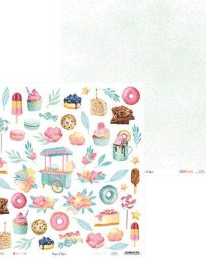 Piatek13 – Paper Sugar and Spice 07 P13-SAS-07 12×12