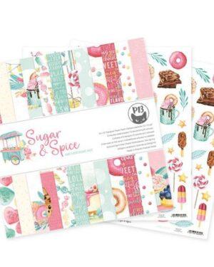 Piatek13 – Paper pad Sugar and Spice, 12×12'' P13-SAS-08
