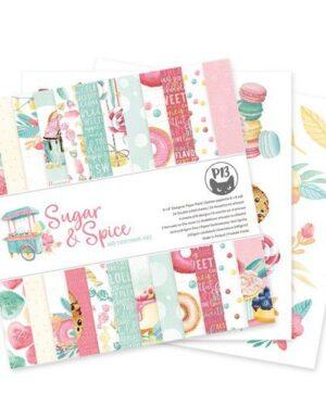 Piatek13 – Paper pad Sugar and Spice, 6×6'' P13-SAS-09