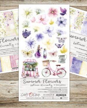 Actieset Craft 'O Clock 'Summer Flowers'