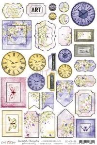 Craft O' Clock – Summer Flowers – Cardboard Die Cuts