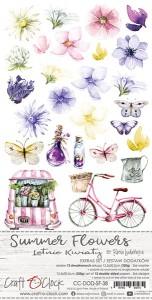 Craft O' Clock – Summer Flowers – Extra SET