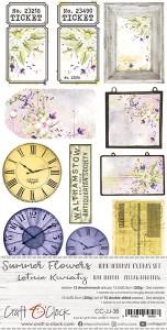 Craft O' Clock – Summer Flowers – Junk Journal Set