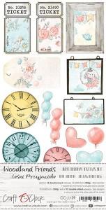 Craft O' Clock – Woodland Friends – Junk Journal Set
