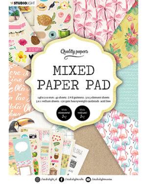 """""""Pre order"""" Studio Light Mixed Paper pad Essentials nr.6 SL-ES-MPP06"""