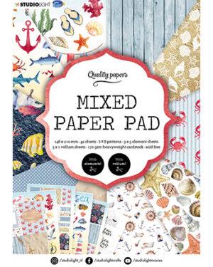 """""""Pre order"""" Studio Light Mixed Paper pad Essentials nr.7 SL-ES-MPP07"""