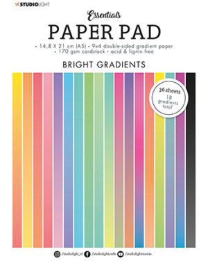 """""""Pre order"""" Studio Light Paper pad Essentials Bright SL-ES-PP18 A5"""