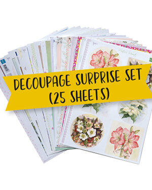 Marianne D Product Assorti Product Assort – Decoupage Verrassing PA4133 A4