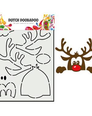 """Pre order"" Dutch Doobadoo Build up A6 Boo Rendier 470.784.012"