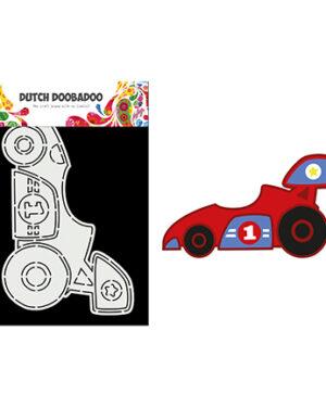 """Pre order"" Dutch Doobadoo Card Art A5 Race auto 470.784.013"