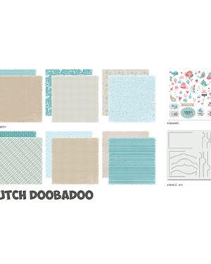 """Pre order"" Dutch Doobadoo Crafty Kit XL Sea party 473.005.015"