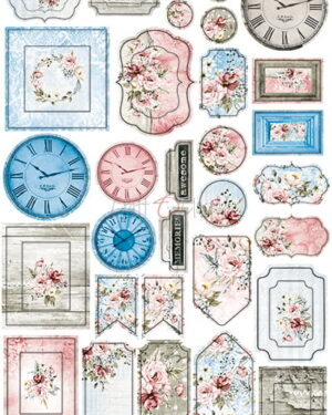 Craft O' Clock – Flower Fiesta – Cardboard Die Cuts