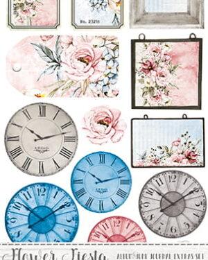 Craft O' Clock – Flower Fiesta – Junk Journal Set