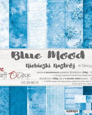 Craft O' Clock – BASIC 12 – BLUE MOOD – 30,5X30,5CM