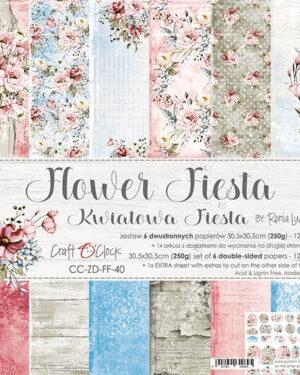 Craft O' Clock – FLOWER FIESTA – 30,5X30,5CM