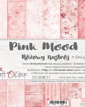 Craft O' Clock – BASIC 11 – PINK MOOD – 20,3X20,3 CM