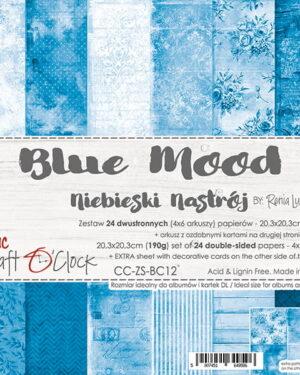 Craft O' Clock – BASIC 12 – BLUE MOOD – 20,3X20,3 CM