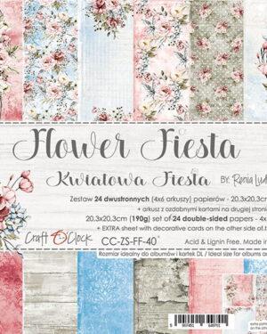 Craft O' Clock – FLOWER FIESTA – 20,3X20,3CM
