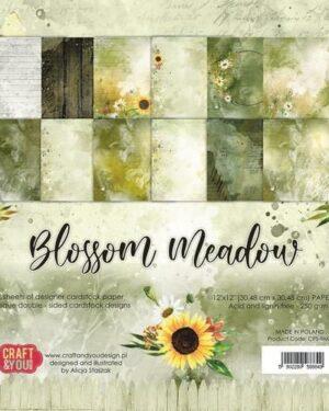 Craft&You Blossom Meadow Big Paper Set 12×12 12 vel CPB-BM30