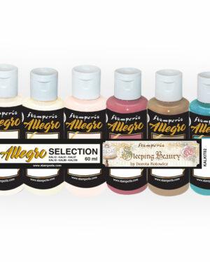 Stamperia Allegro Paint Kit Sleeping Beauty (6pcs) (KALKIT02)