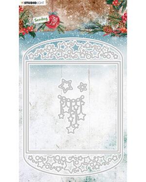 SL Cutting Die Card shape Sending Joy 148x205mm nr.54
