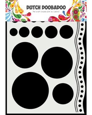 470.784.033 – Mask Art Doodle circles and border