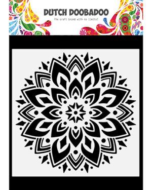 470.784.034 – Dutch Mask Art Doodle Mandala