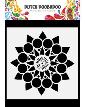 470.784.035 – Dutch Mask Art Doodle Mandala 2