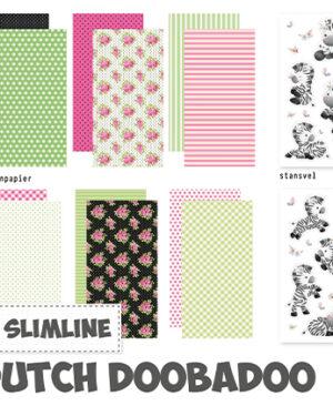 473.005.016 – Crafty Kit Slimline Zebra