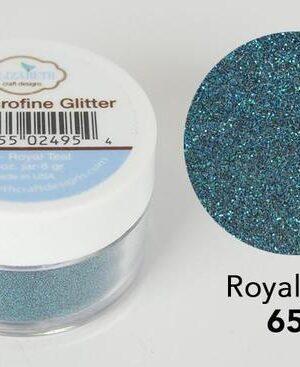 Elizabeth Craft Design – Silk Microfine Glitter – Royal Teal 652