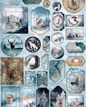 SNOWY WINTERLAND – CARDBOARD DIE-CUTS