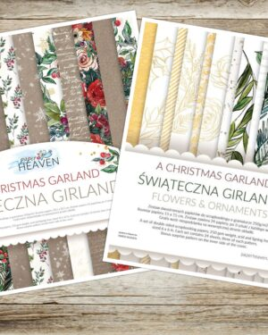 Combideal A Christmas Garland – Paper Heaven