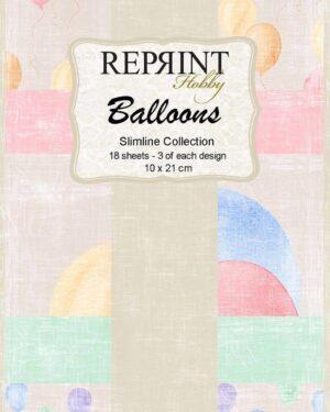 Reprint Balloons Slimline Paper Pack (RPS003)